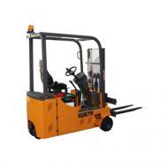Chariot élévateur conçu pour avoir le plus faible poinçonnement au sol pour une  utilisation sur mezzanine ou sur un sol à faible capacité de charge.