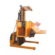 Préparateur de commandes conçu pour la prise de bobines de tissus pour l'industrie du  textile.