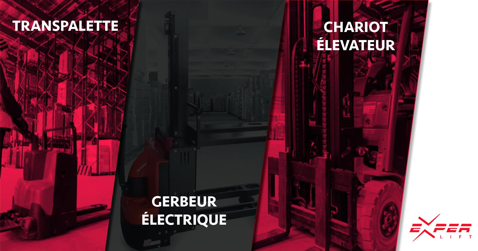 Transpalette, gerbeur, chariot élévateur : quelle machine choisir ?