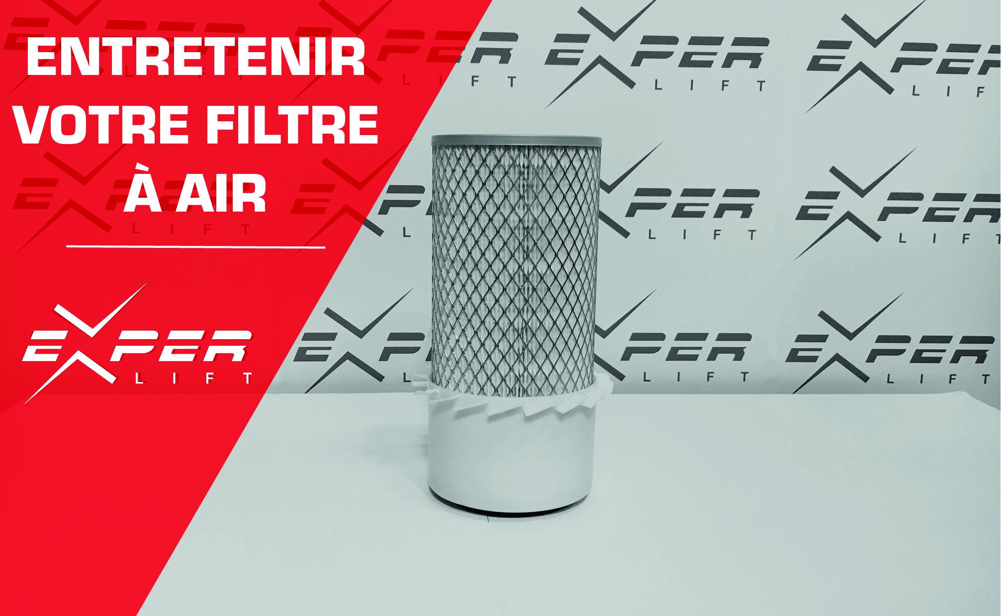 Entretenir le filtre à air de votre matériel, un indispensable !