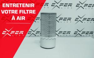 Entretenir le filtre à air de votre matériel