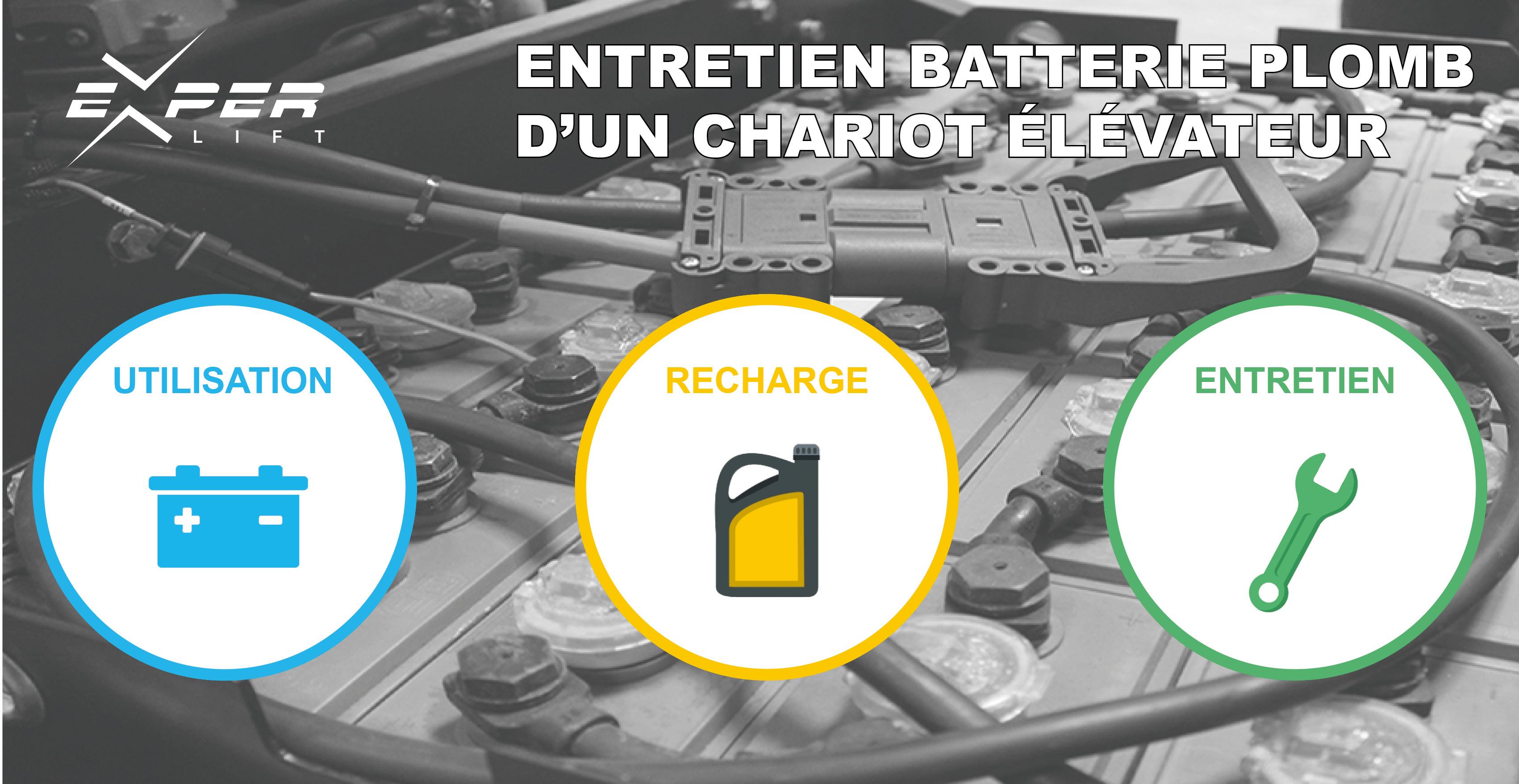 Entretien de la batterie plomb d'un chariot élévateur : les bonnes pratiques