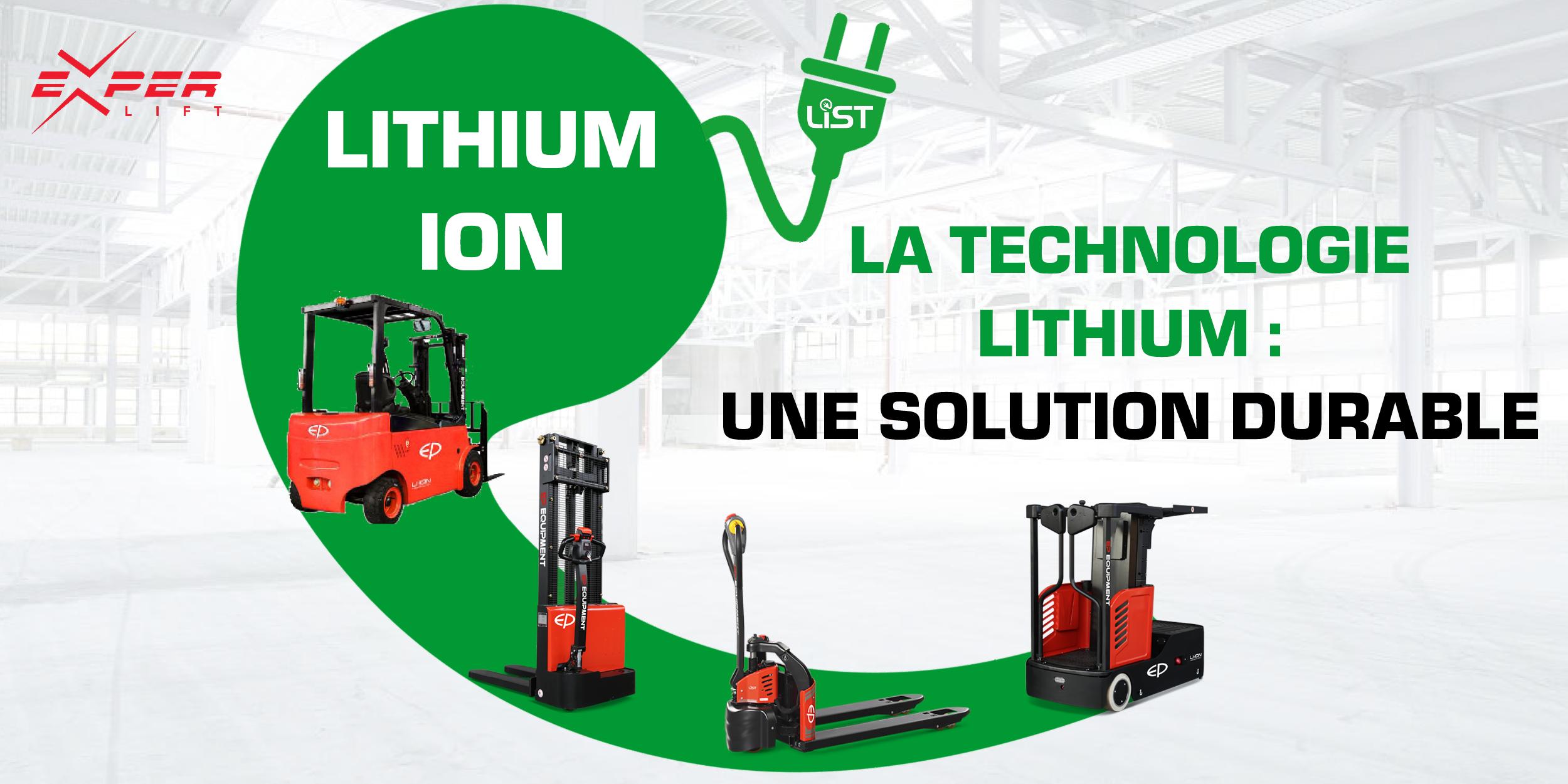 La technologie Lithium, une solution durable