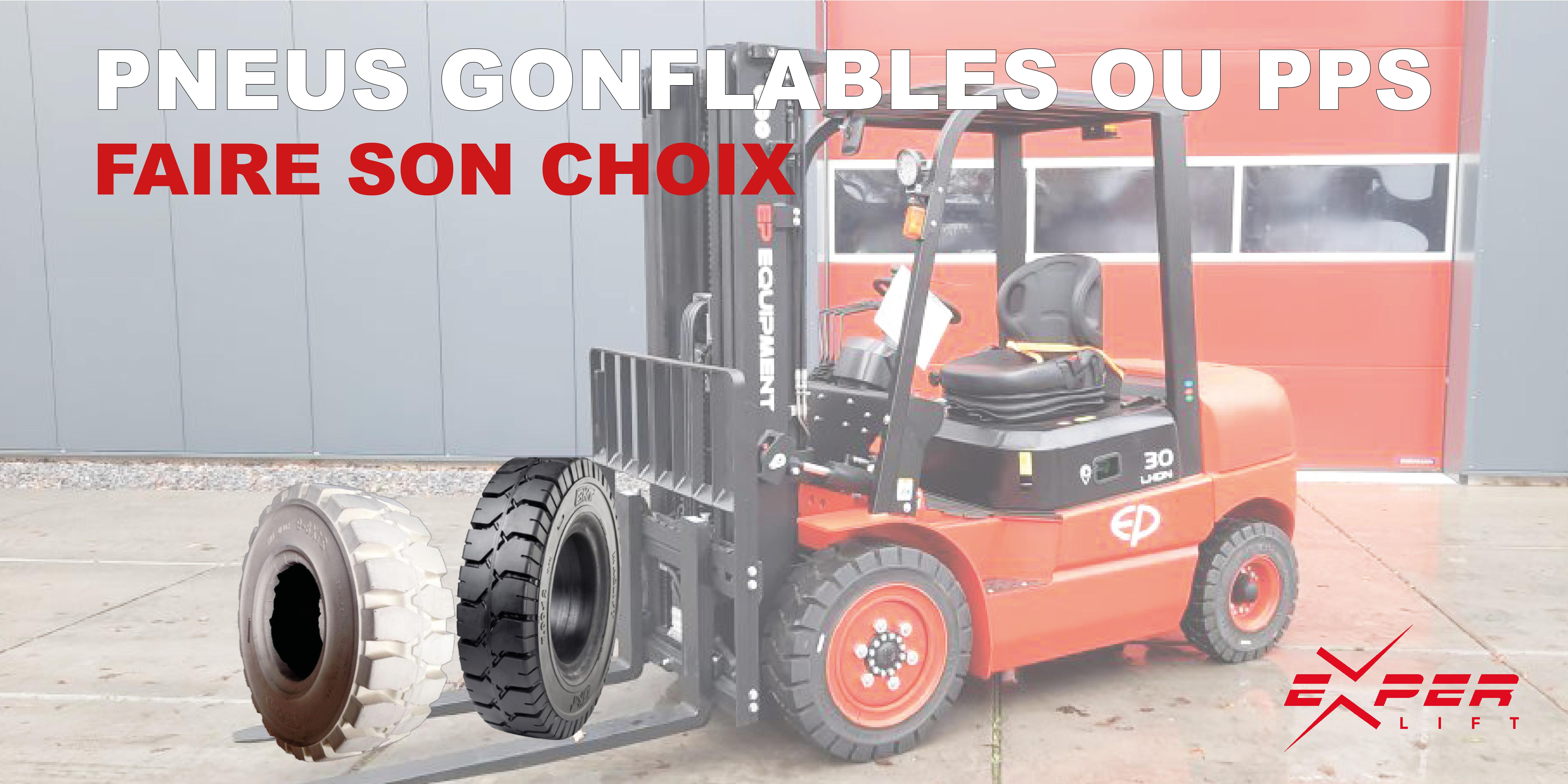 Pneus gonflables ou pneus pleins souples: faire son choix