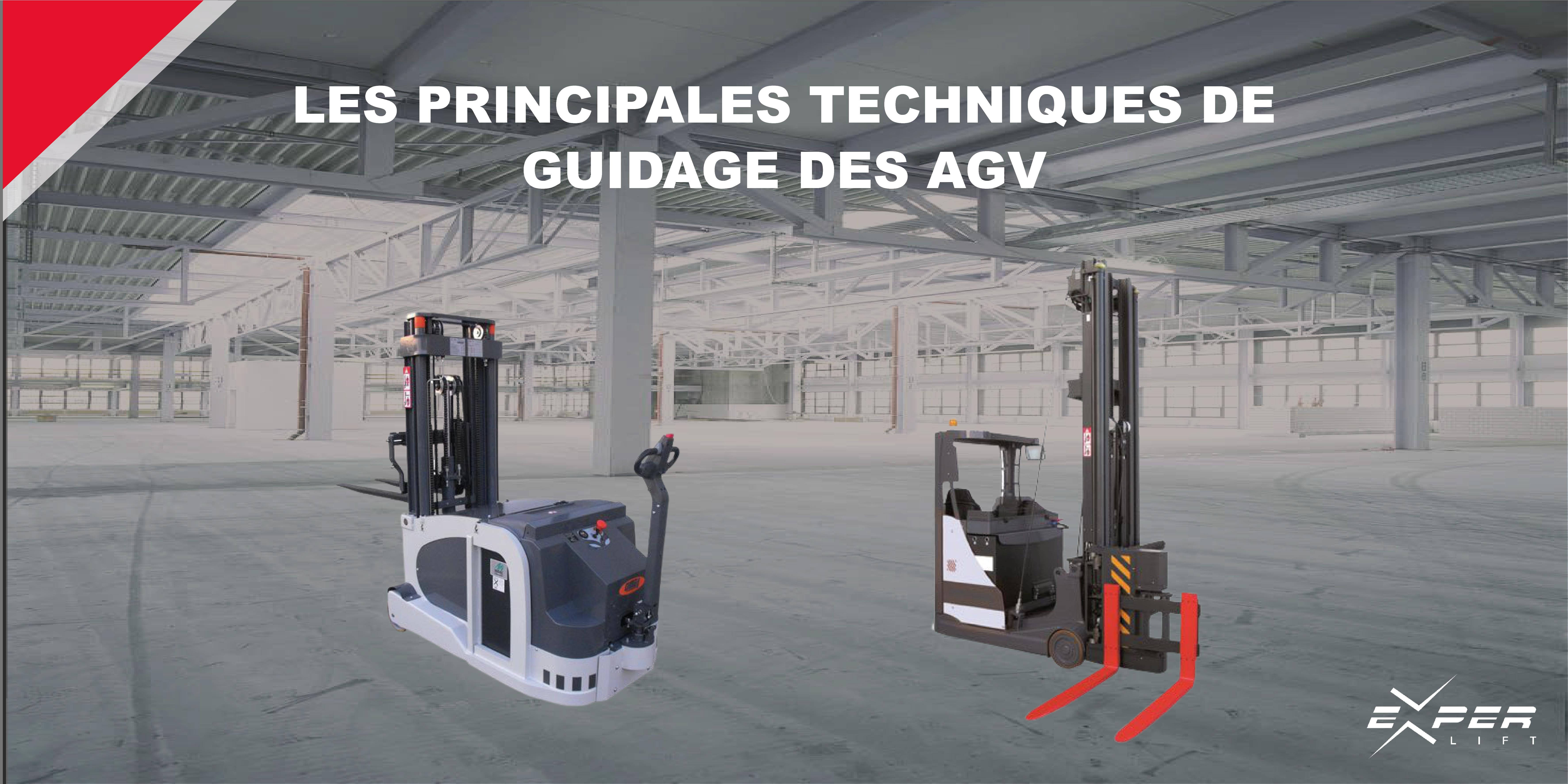 Les principales techniques de guidage des AGV